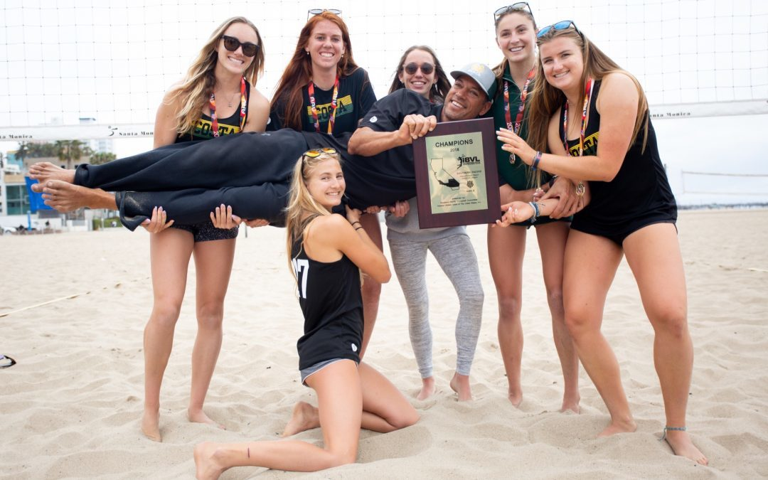 Mira Costa Beach Volleyball 2018 IBVL League Champions