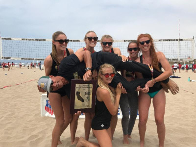 Mira Costa Beach Volleyball 2018 State Champions